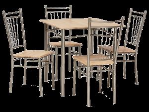 Комплект маси и столове
