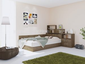 Легло с шкаф Манира