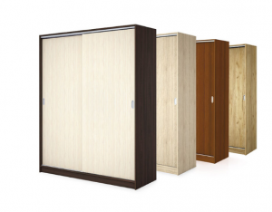 Двукрилен гардероб Самира