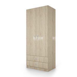 Двукрилен гардероб Сити 1008