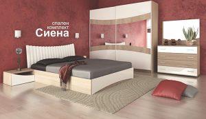 Спален комплект Сиена