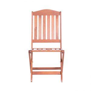 Градински сгъваем дървен стол LARS