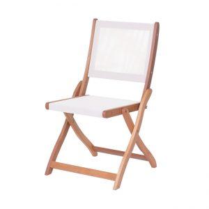 Градински дървен сгъваем стол OLAF