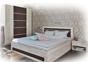 Спален комплект 160x200 Синди